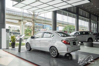 Mitsubishi Attrage 2021 đang được ưu đãi hỗ trợ 50% phí trước bạ lên tới 24 triệu đồng.