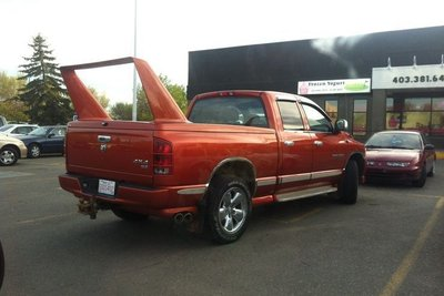 Muôn kiểu độ xe bán tải khiến chủ nhân bị nghi ngờ về khiếu thẩm mỹ a7