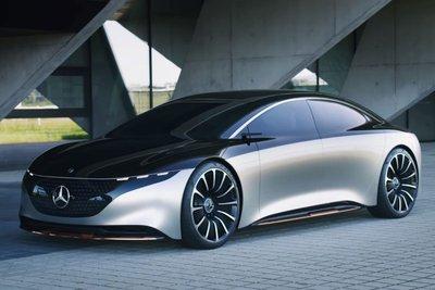 Mercedes-Benz EQS 2022 sắp ra mắt 1