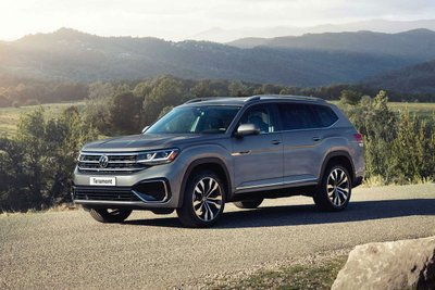 Volkswagen Teramont 2021 sắp ra mắt thị trường Việt 1