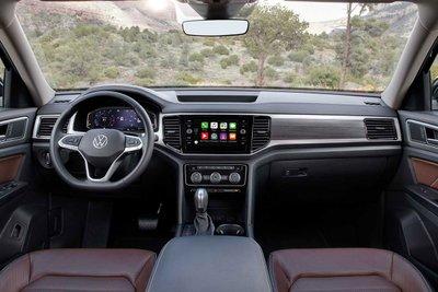 Không gian nội thất xe Volkswagen Teramont 2021 1