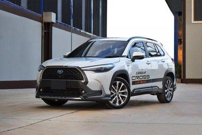 Toyota Corolla Cross độ body kits mới nhất.