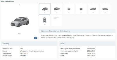 Lộ diện 2 mẫu xe mới được VinFast đăng kí bảo hộ tại Úc - Ảnh 1.