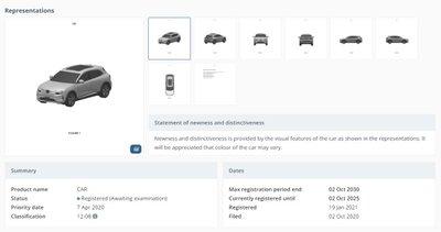 Lộ diện 2 mẫu xe mới được VinFast đăng kí bảo hộ tại Úc.