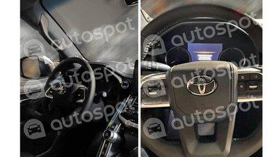 Nội thất Toyota Land Cruiser thế hệ mới cực kỳ bắt mắt.