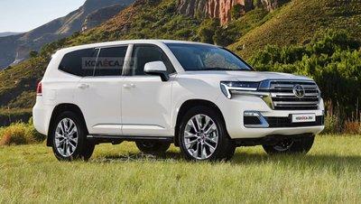 Toyota Land Cruiser thế hệ mới lộ động cơ, vẫn có bản chạy dầu diesel.