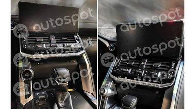 Nội thất Toyota Land Cruiser thế hệ mới tích hợp nhiều trang bị hiện đại.