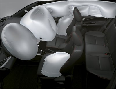 Toyota Vios 2021 an toàn, hiện đại và đẹp mắt.