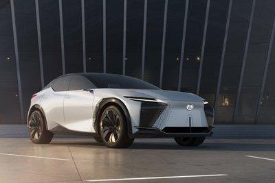 Lexus LF-Z Electrified Concept ra mắt 1