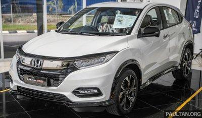 Honda HR-V 2021 RS chào giá thân thiện chỉ từ 665 triệu đồng.