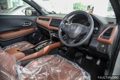 Nội thất Honda HR-V 2021 RS sang trọng và nổi bật.