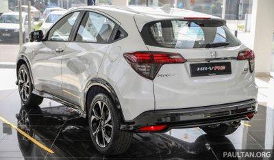 Honda HR-V 2021 RS mới mẻ và thể thao hơn nữa.