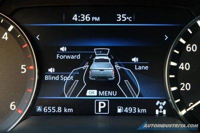 Nissan Navara 2021 tích hợp các tính năng tiện nghi đáng giá.