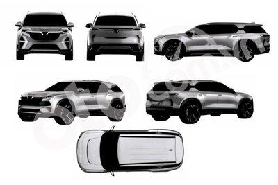 Hé lộ hai mẫu xe mới nhất VinFast nộp đơn xin bảo hộ trí tuệ công bố năm 2021.