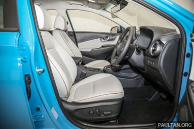 Hyundai Kona 2021 đảm bảo mang đến 1 trải nghiệm lái thú vị.