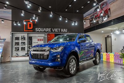Isuzu D-Max 2021 mới ra mắt thị trường Việt 1