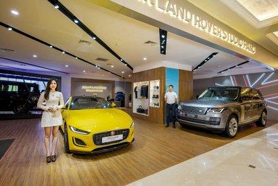 Jaguar Land Rover khai trương khu trưng bày xe mới tại Hà Nội 1