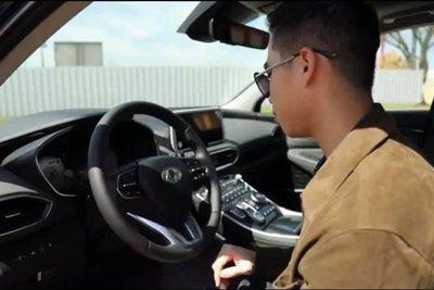 """Lộ ảnh """"trần trụi"""" nội, ngoại thất Hyundai Santa Fe 2021 sắp bán ở Việt Nam, giá dự kiến cao a2"""