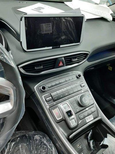 """Lộ ảnh """"trần trụi"""" nội, ngoại thất Hyundai Santa Fe 2021 sắp bán ở Việt Nam, giá dự kiến cao a3"""