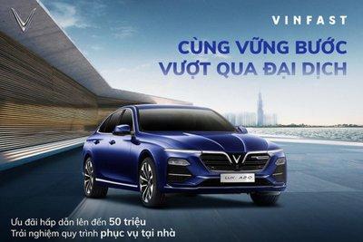 VinFast tung ưu đãi hấp dẫn, đại lý giảm giá 80 - 100 triệu đồng cho khách chốt xe Lux A2.0 2020
