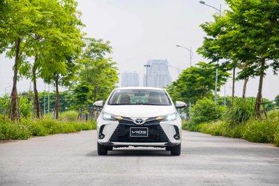 Toyota Vios nhận ưu đãi phí trước bạ đến hết tháng 8 - Ảnh 2.