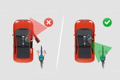 Kỹ thuật mở cửa xe Dutch Reach.