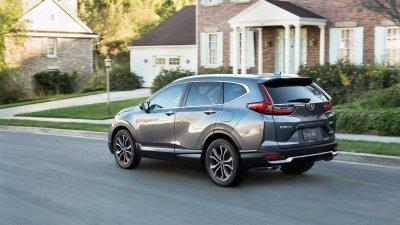 Honda CR-V 2021 Special Edition xếp giữa cấp trang bị CR-V LX và CR-V EX.