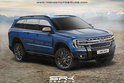 """Đây có thể là nội thất """"sang, xịn, mịn"""" của Ford Everest 2022 a1"""