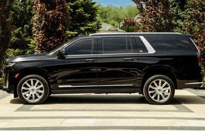 Chiều dài xe Cadillac Escalade 2021 phiên bản bọc giáp chống đạn.