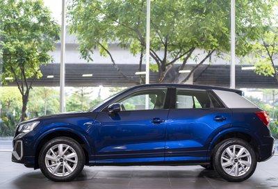 Audi Q2 2021 sẽ có 5 màu ngoại thất.