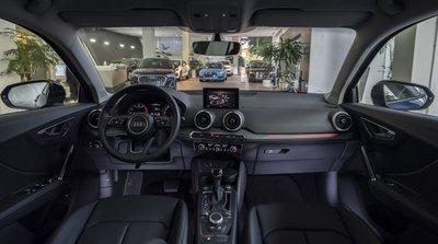 Nội thất Audi Q2 rộng rãi hơn.