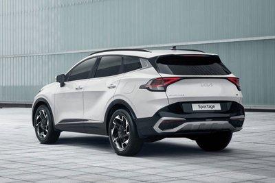 """Kia Sportage 2022 lộ diện, """"đàn em"""" Sorento quá đẹp, đủ sức làm khó CR-V, CX-5 a6"""