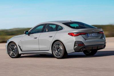 BMW 4 Series Gran Coupe trang bị động cơ I4 2.0L tăng áp.