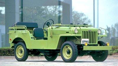 Chiếc Toyota Jeep BJ (Thế hệ đầu tiên của Land Cruiser).