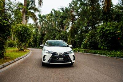 Toyota Vios giành lại ngôi vương từ tay Hyundai Accent.