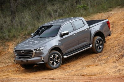 Mazda BT-50 2021 đã chính thức nhận cọc, cuối tháng giao xe.