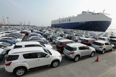 Nhập khẩu xe từ Thái Lan sẽ gặp khó khăn do rào cản khí thải mới.