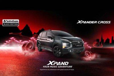 """Mitsubishi Xpander Black Edition """"full đen"""" siêu ngầu chào giá từ 442 triệu đồng."""