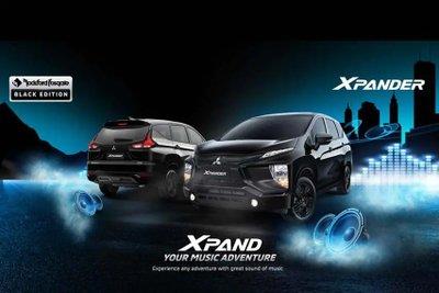 Mitsubishi Xpander Black Edition cực kỳ bắt mắt.