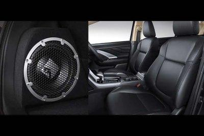 Mitsubishi Xpander Black Edition với nội thất cùng tông đen sang trọng.
