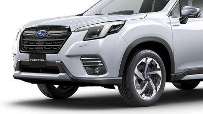 Subaru Forester 2022 bắt mắt hơn.