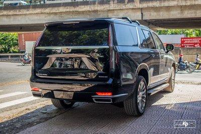 Soi Cadillac Escalade 2021 đầu tiên về Việt Nam Đầy cơ bắp, nhưng vẫn sang trọng a7