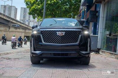 Soi Cadillac Escalade 2021 đầu tiên về Việt Nam Đầy cơ bắp, nhưng vẫn sang trọng a1s