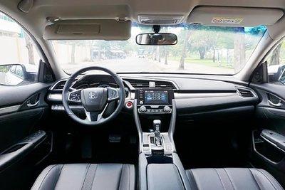 Nội thất của Honda Civic.