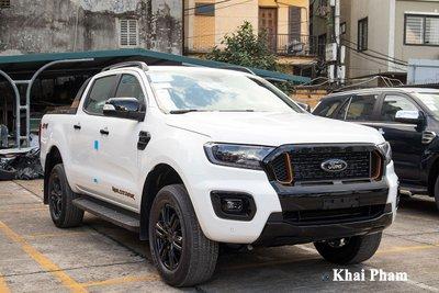 Ford Ranger lắp ráp tại Việt Nam lộ diện số phiên bản, thông số.