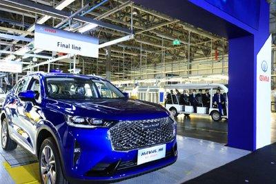 SUV Trung Quốc Haval sản xuất tại Thái Lan, đánh vào thị trường Đông Nam Á.