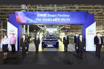 SUV Trung Quốc Haval H6 Hybrid xuất xưởng.