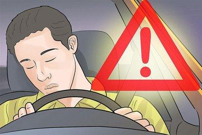 """Kinh nghiệm vượt qua """"giấc ngủ trắng"""" khi lái xe."""