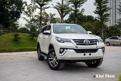 Toyota Fortuner là 1 trong những mẫu xe 7 chỗ tốt nhất tại Việt Nam.