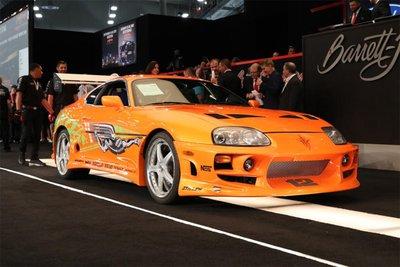 Chiếc xe 10 giây của Paul Walker được bán đấu giá lên tới 550.000 USD.